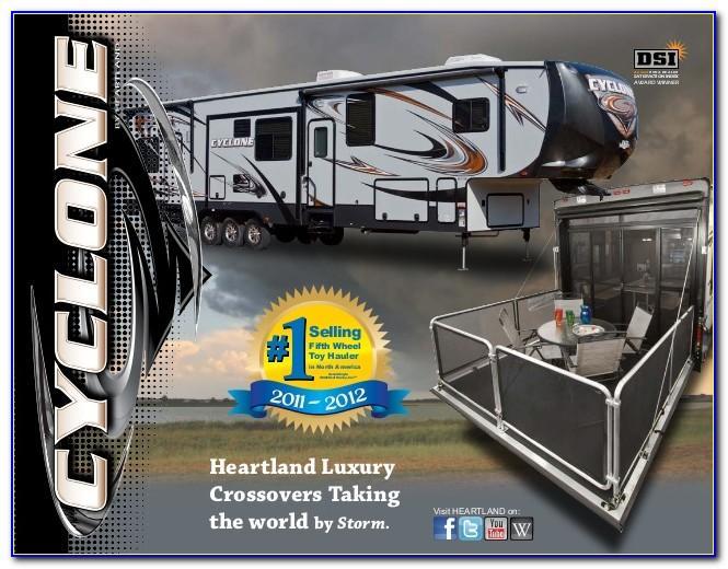 2011 Heartland North Trail Brochure