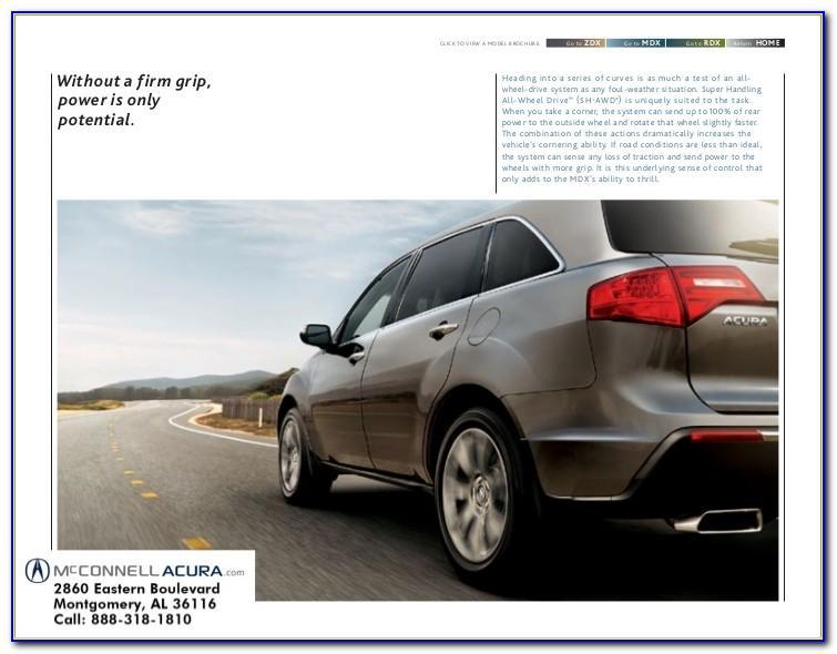 2012 Acura Mdx Brochure