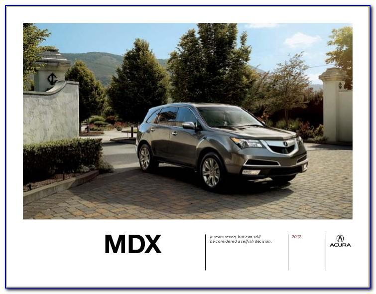2013 Acura Mdx Brochure