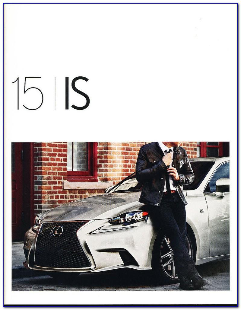 2015 Lexus Nx Brochure Canada