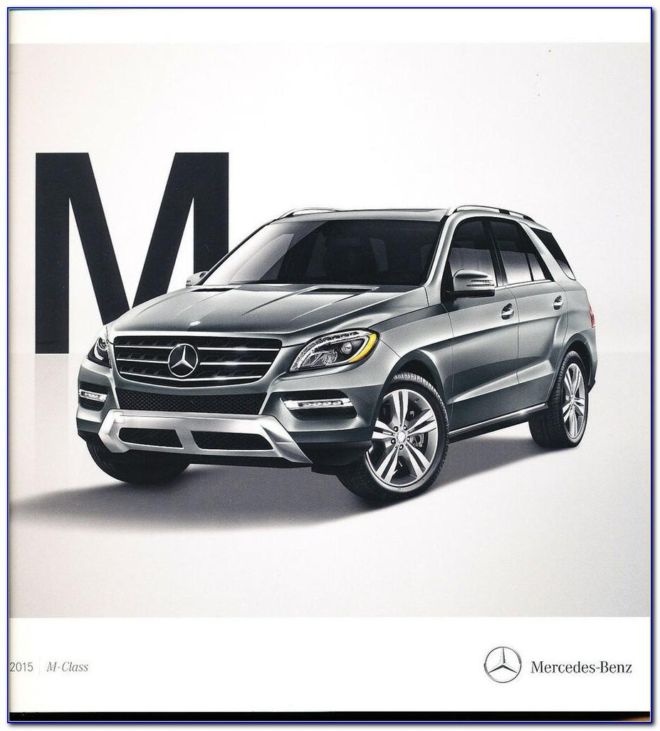 2015 Mercedes Ml350 Brochure
