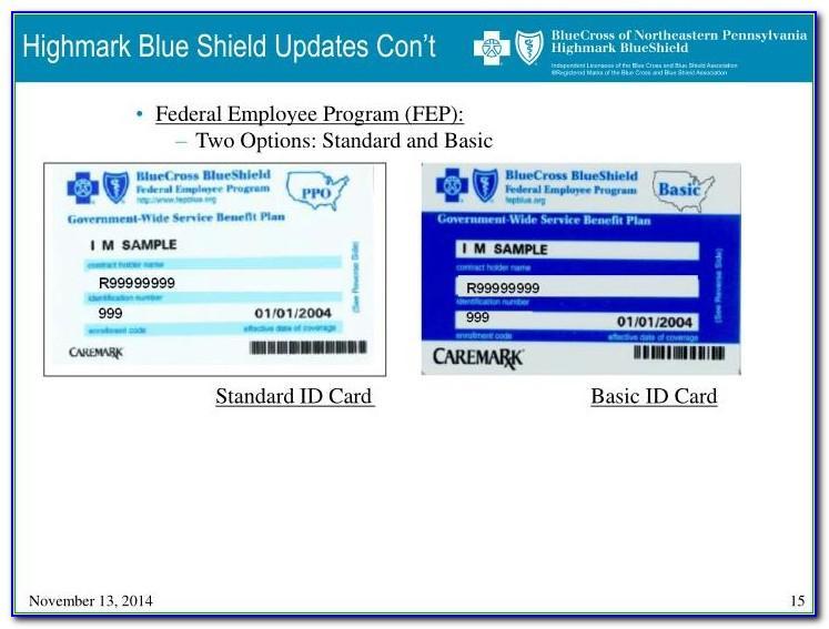 2016 Blue Cross Blue Shield Federal Basic Plan Brochure