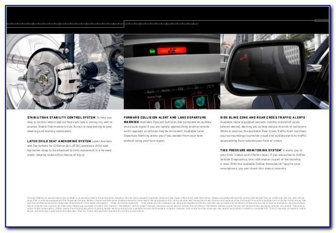 2017 Chevy Silverado Brochure