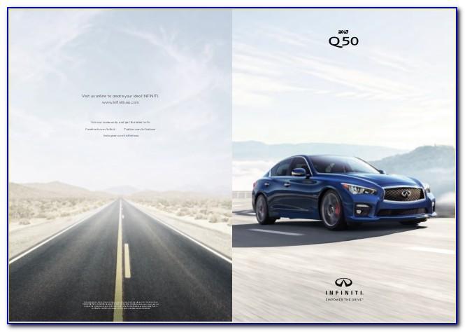 2017 Infiniti Q50 Brochure