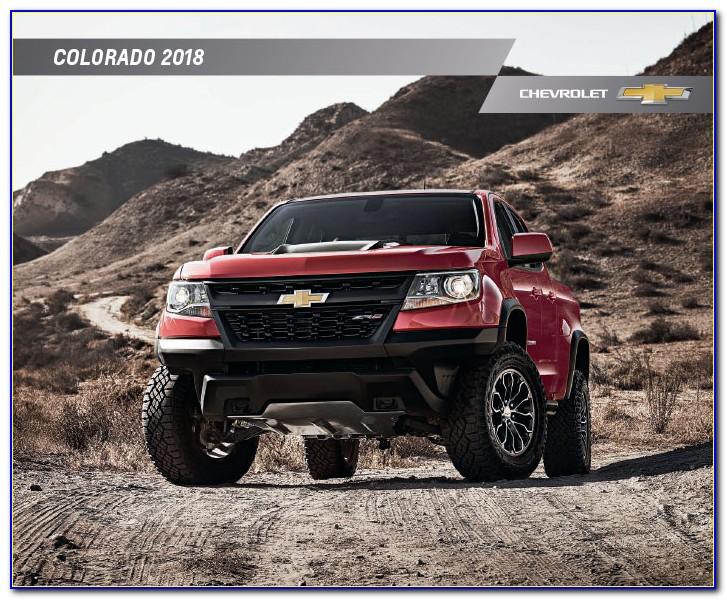 2018 Chevy Colorado Brochure