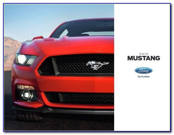 2018 Ford Mustang Bullitt Brochure Pdf