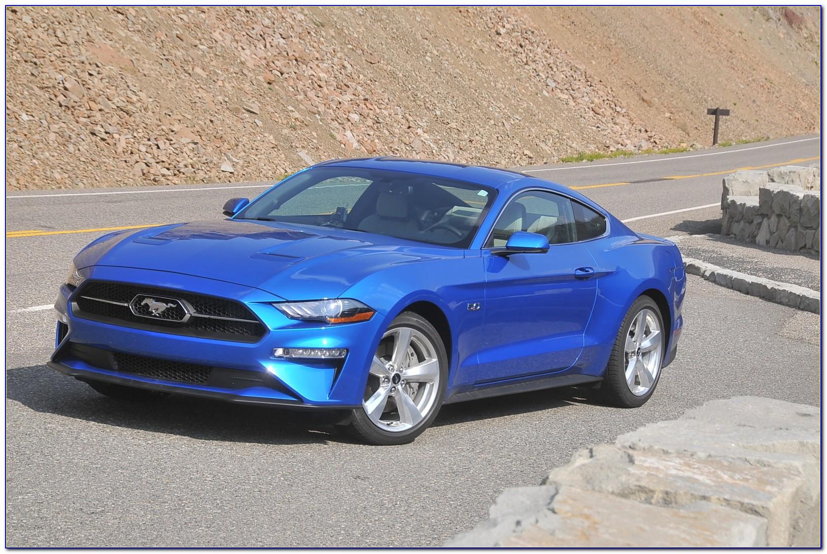 2019 Ford Mustang Bullitt Brochure Pdf