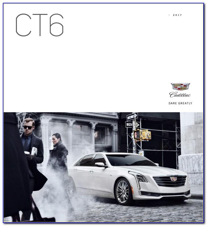2020 Cadillac Ct6 Brochure