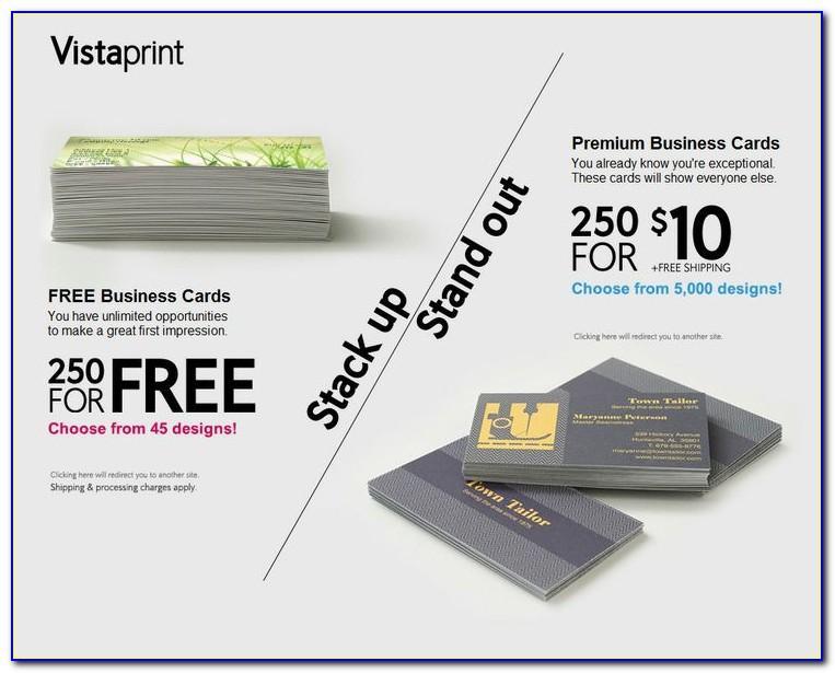 250 Free Business Cards Vistaprint Coupon Code