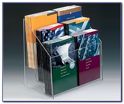 6 Slot Brochure Holder