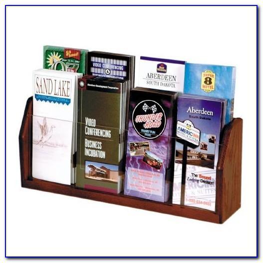 6 Wide Brochure Holder
