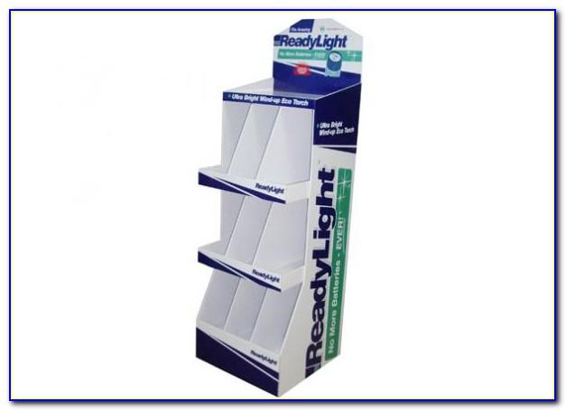 A4 Cardboard Brochure Holders