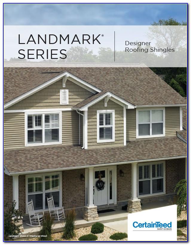 A4 Landscape Brochure Mockup Free Download
