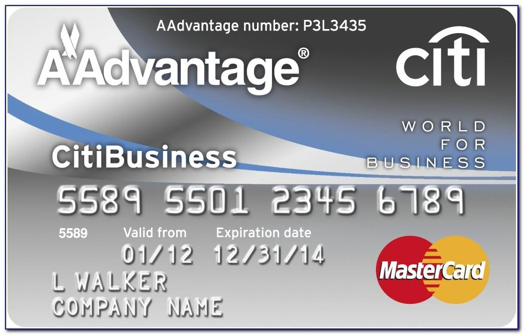 Aadvantage Business Card Login