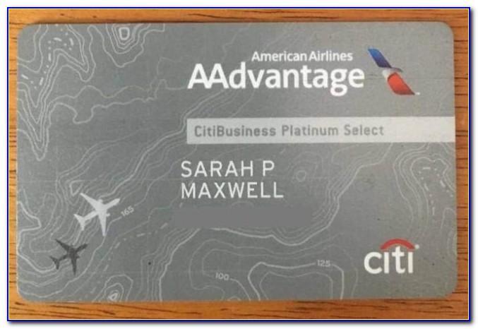 Aadvantage Business Credit Card