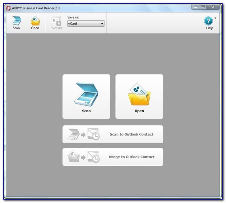 Abbyy Business Card Reader For Windows