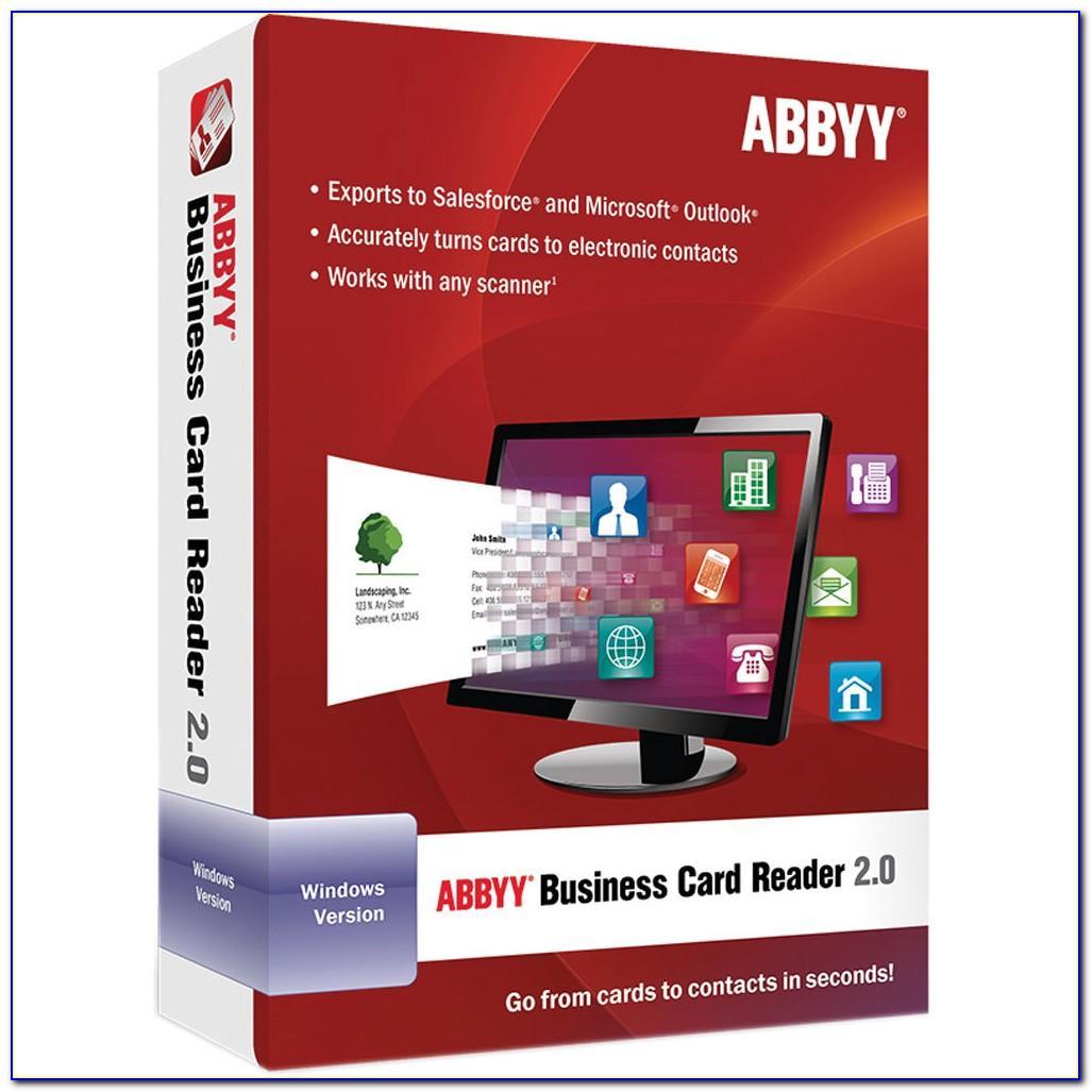 Abbyy Business Card Reader Free
