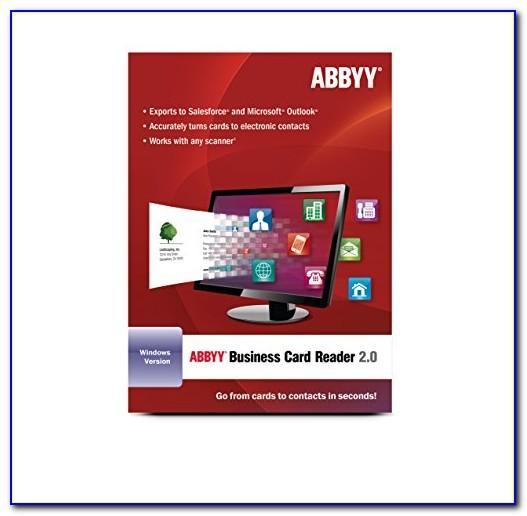 Abbyy Business Card Reader Pro Apk