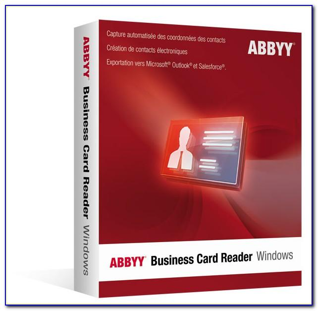 Abbyy Business Card Reader Review