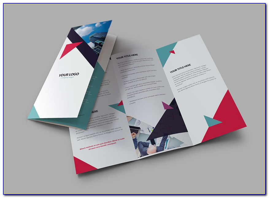 Accordion Brochure Template Indesign
