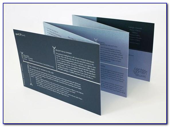 Accordion Fold Brochure Size