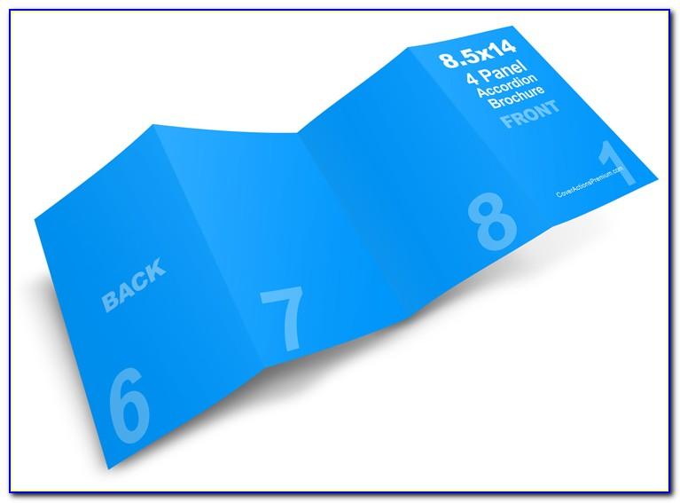 Accordion Fold Brochure Sizes