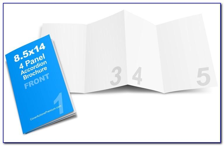 Accordion Fold Brochure Template