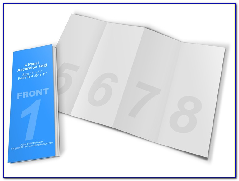 Accordion Fold Brochures