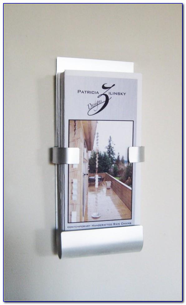 Acrylic Brochure Holders Wall Mounted
