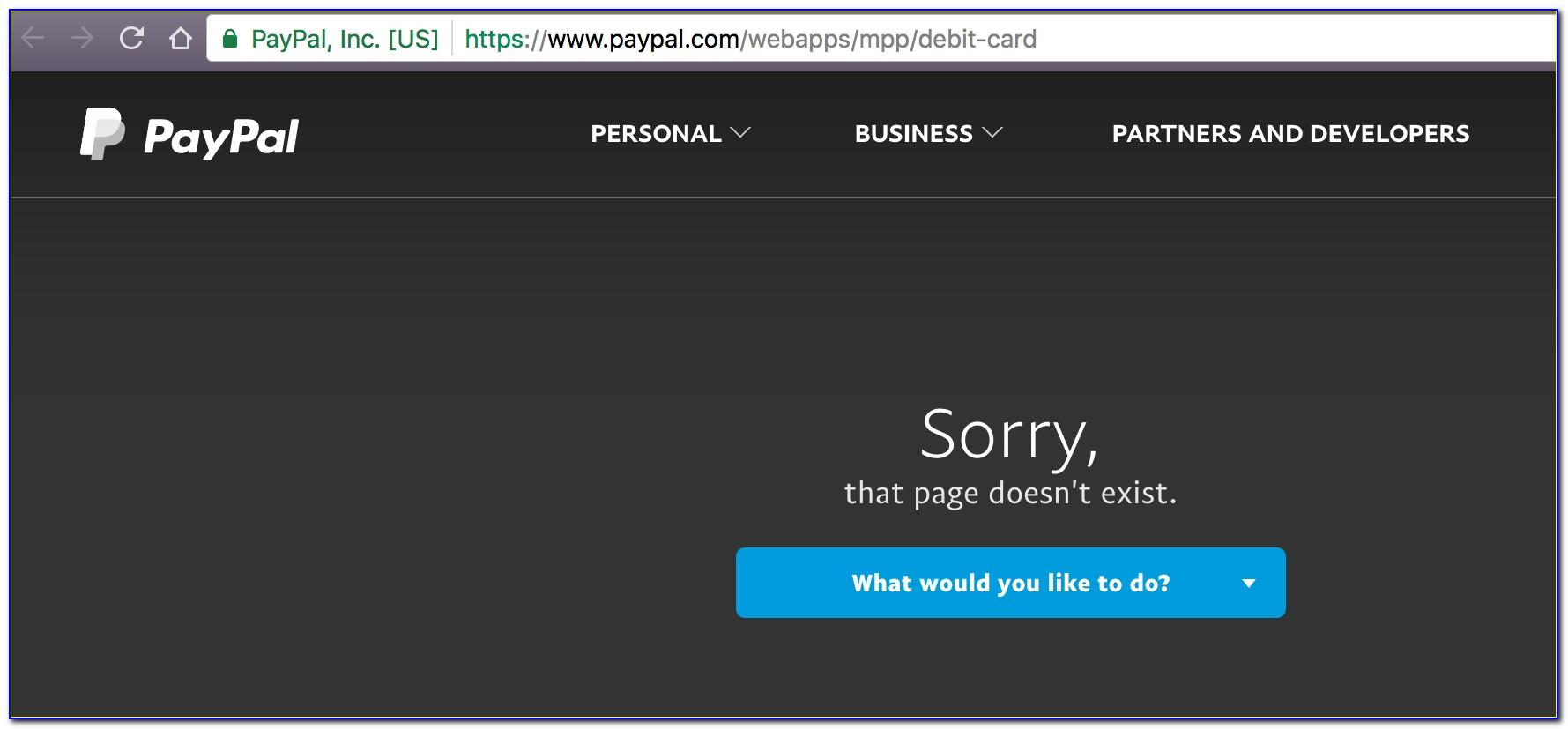 Activate My Paypal Business Debit Card
