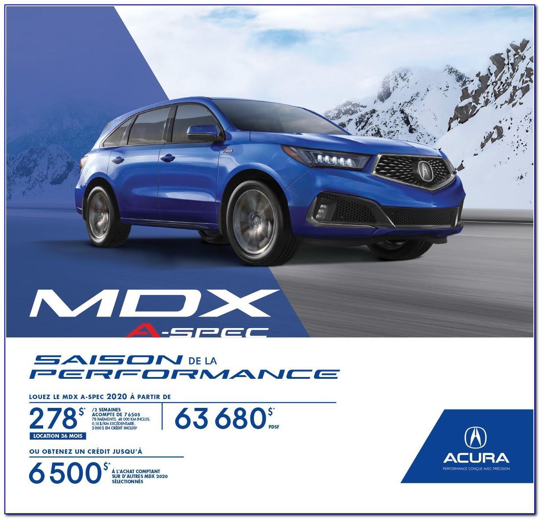 Acura Mdx Brochure 2020