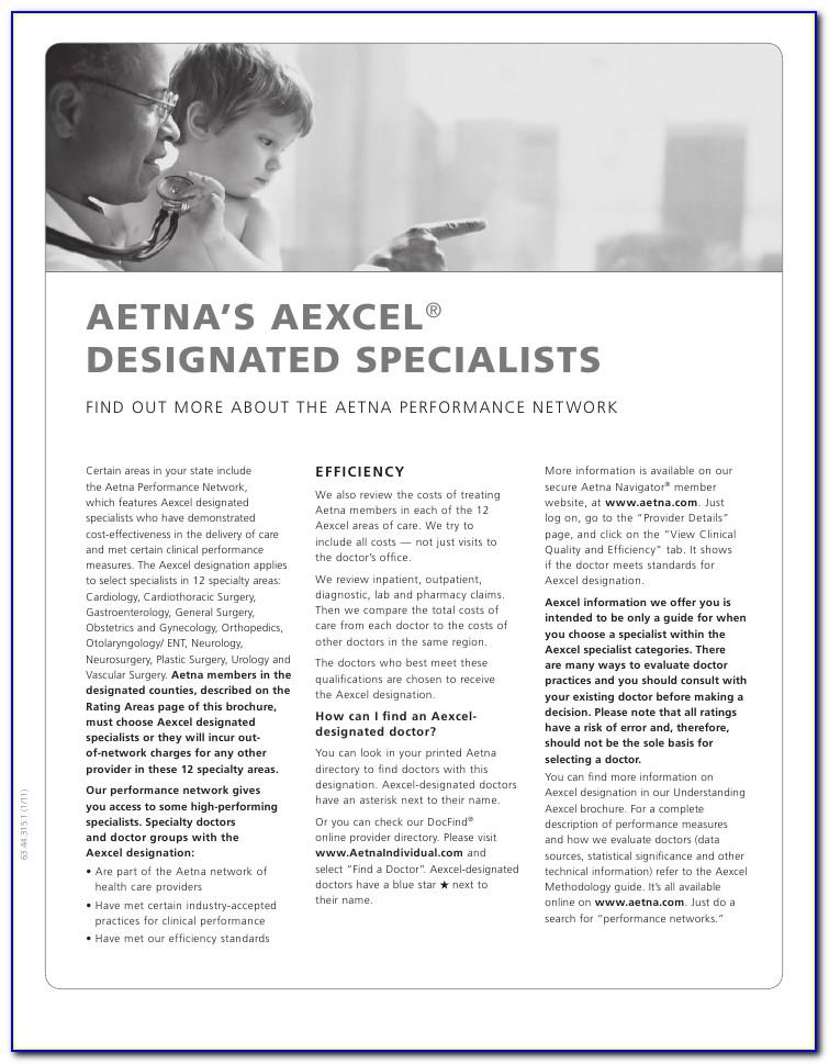 Aetna Funding Advantage Brochure