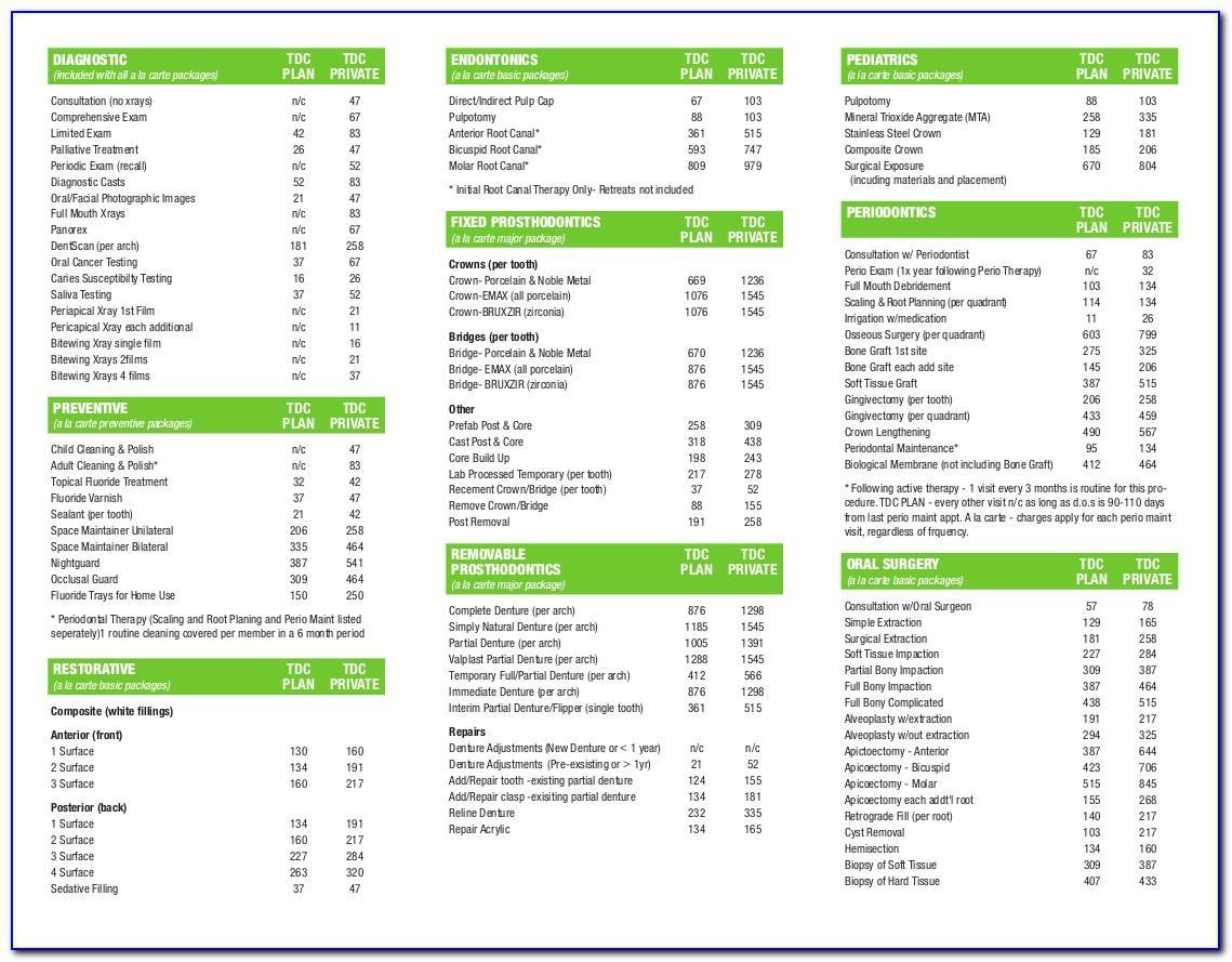 Aflac Dental Essentials Brochure