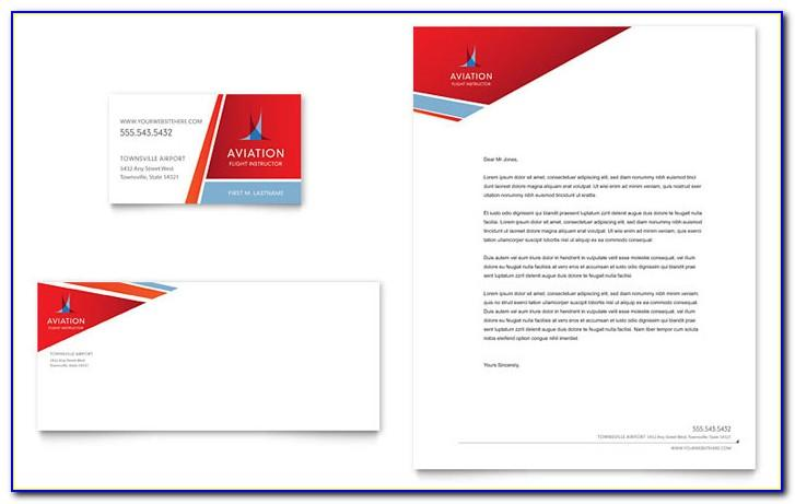Airline Pilot Business Cards