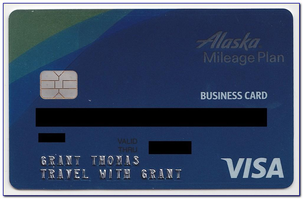 Alaska Airlines Business Card Referral