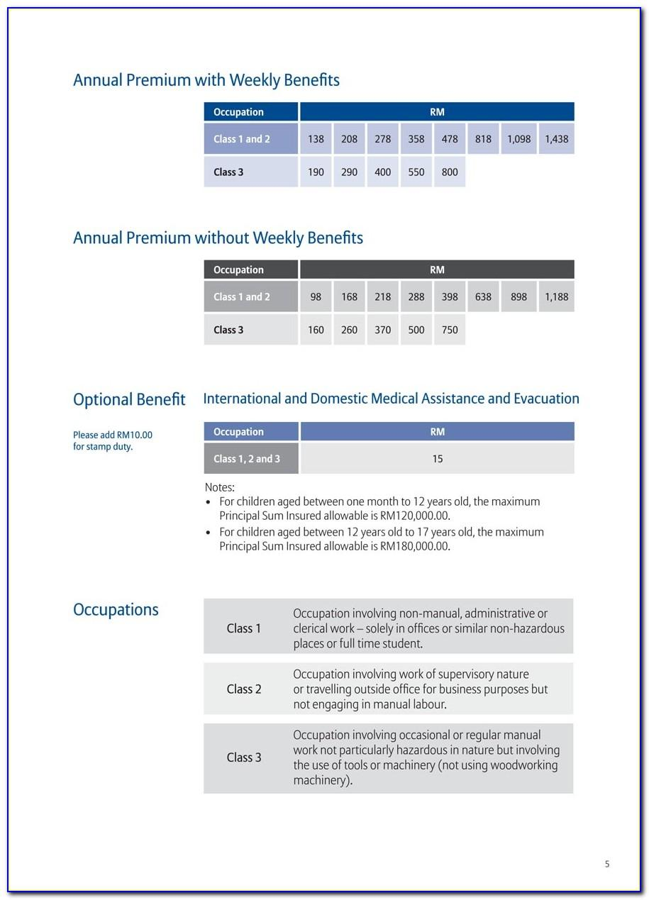 Allianz Travel Insurance Brochure Pdf