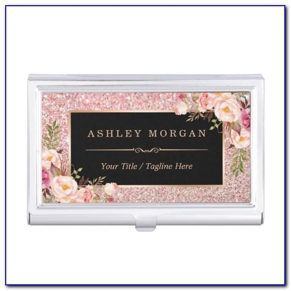 Amazon Rose Gold Business Card Holder
