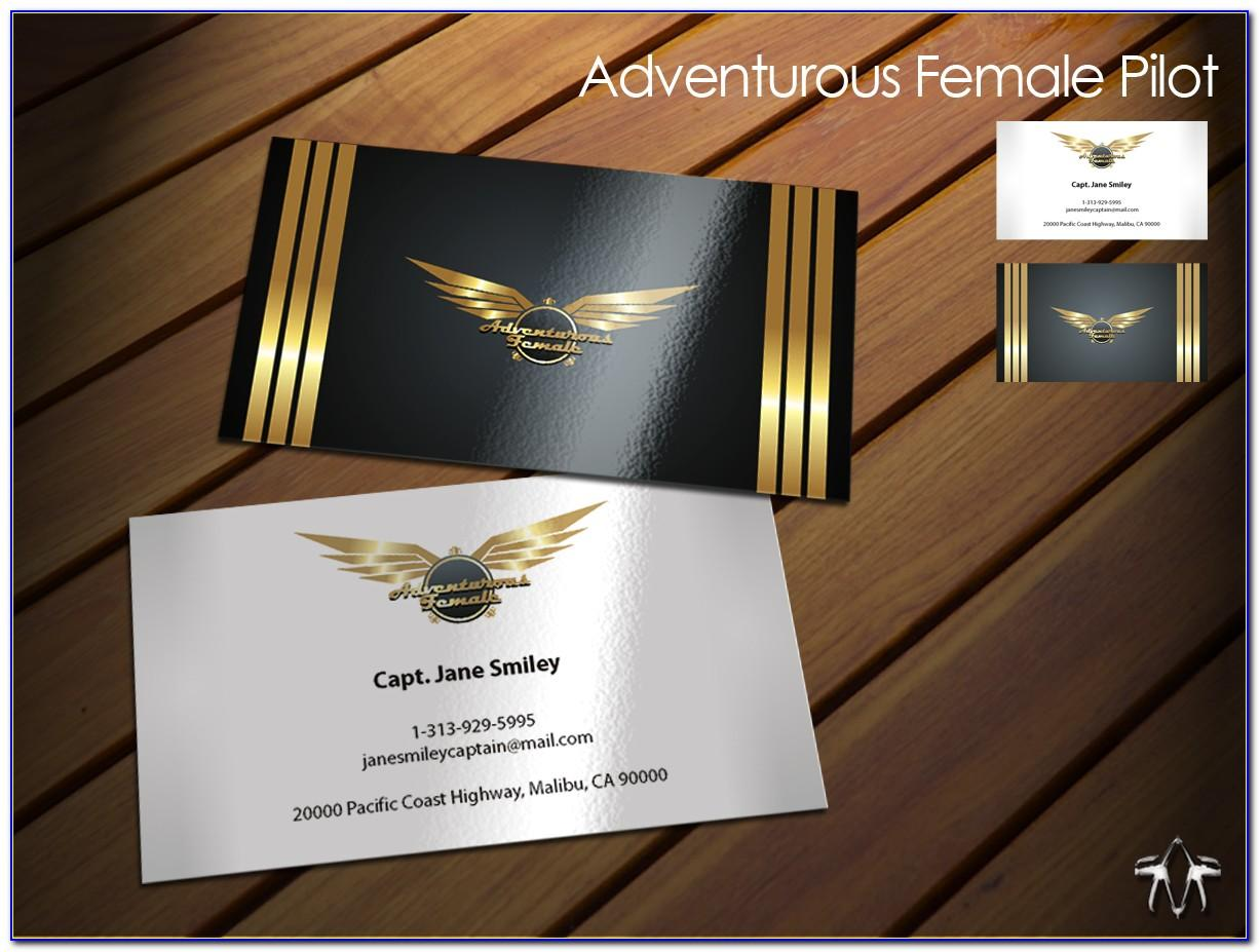 American Airline Business Cards