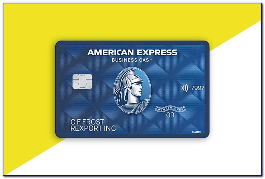 American Express Blue Business Cash Card