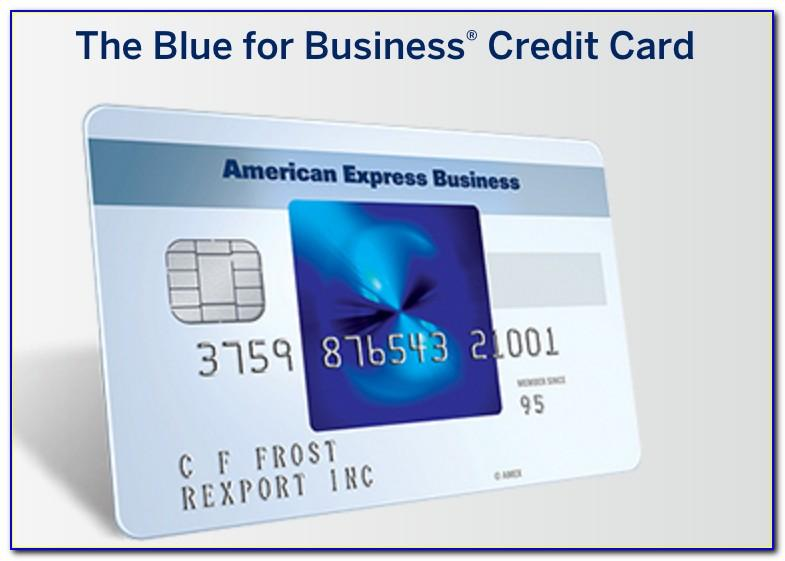 American Express Blue For Business Credit Card