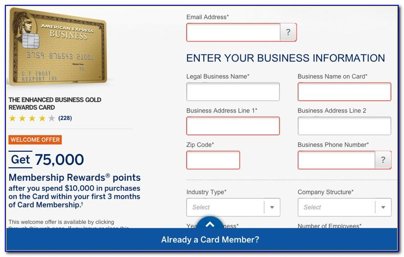 American Express Business Green Rewards Card