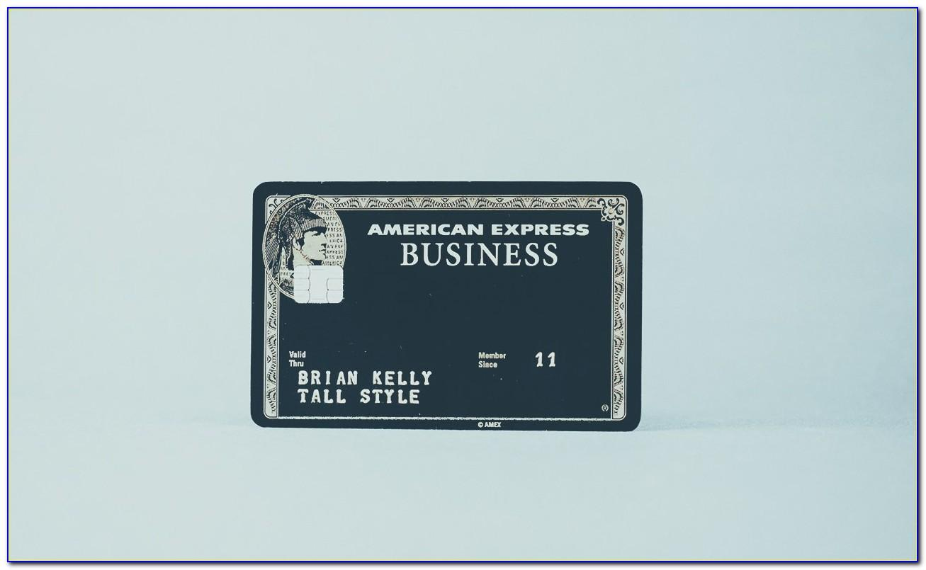 American Express Centurion Business Black Card