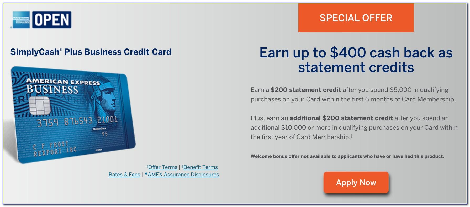 American Express Simplycash Plus Business Card Review