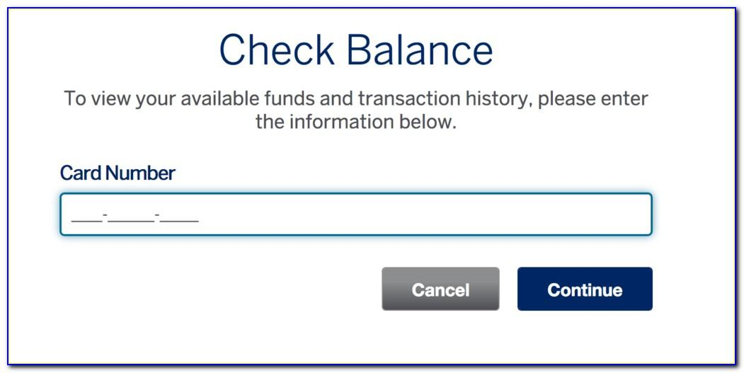 Amex Business Gift Card Check Balance