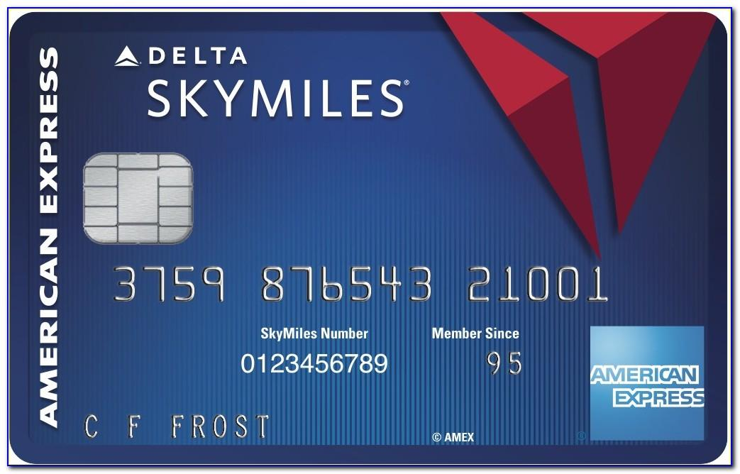 Amex Delta Skymiles Business Card
