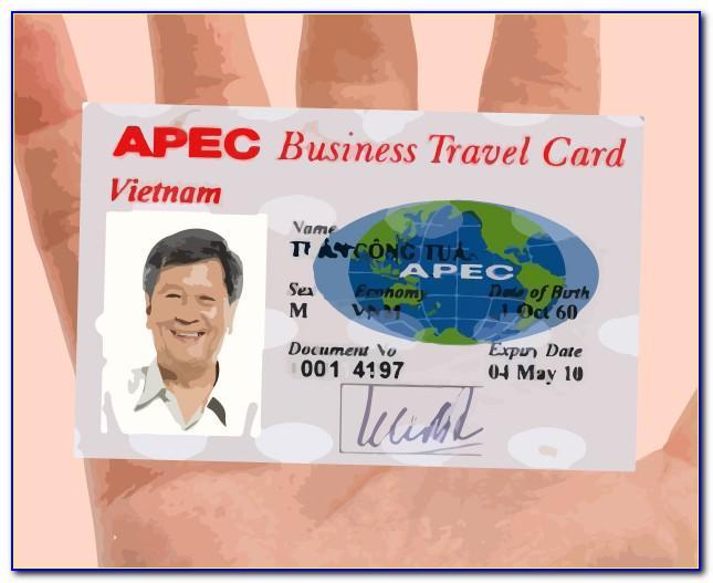 Apec Business Travel Card (abtc)