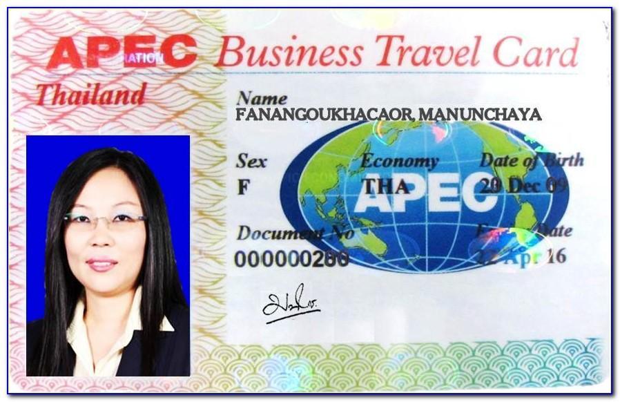Apec Business Travel Card Adalah