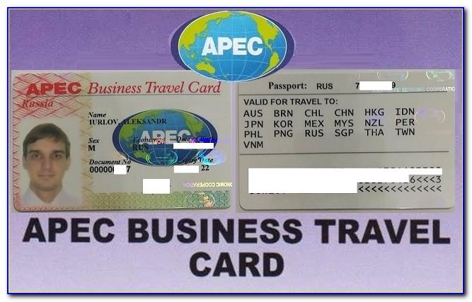 Apec Business Travel Card Benefit