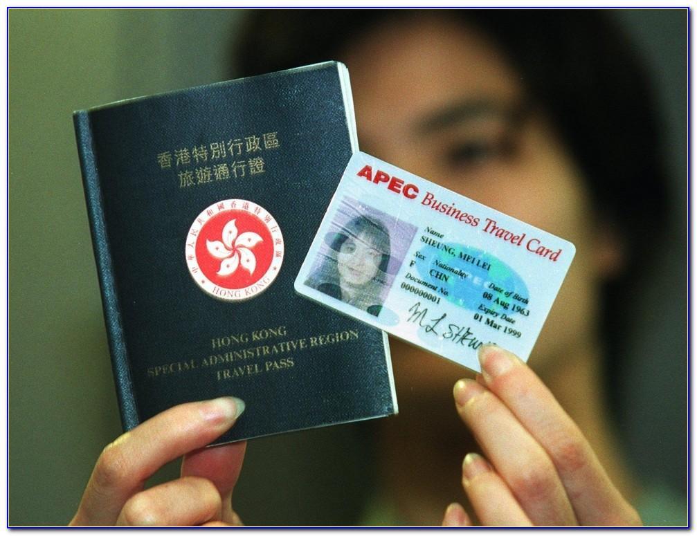 Apec Business Travel Card Hong Kong