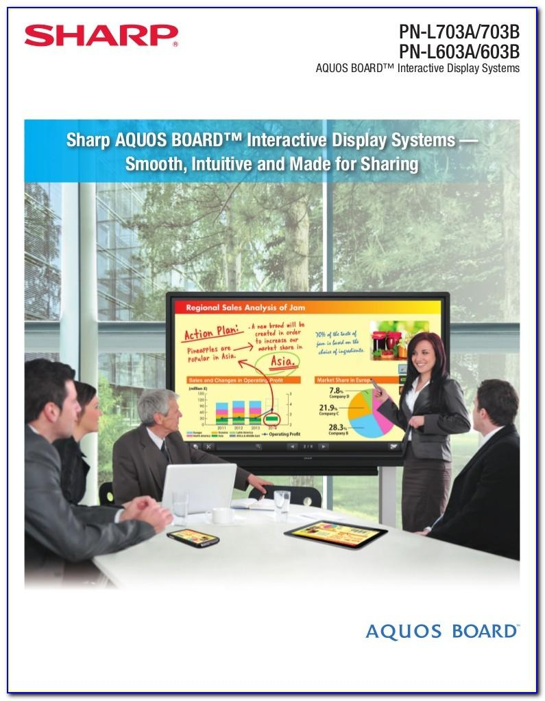 Aquos Board Brochure